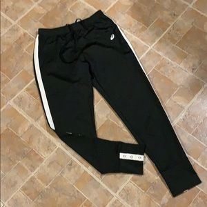 Asics athletic joggers size women's small